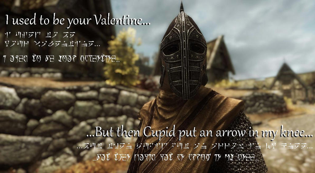 Skyrim ValentineerHearts Day Card by TheMoonclaw on DeviantArt – Skyrim Valentines Card