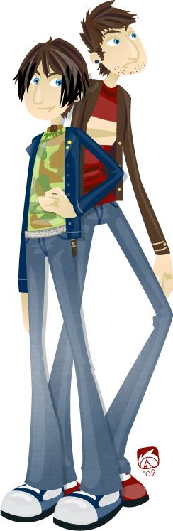 Character Profile - Hunter by acktacky