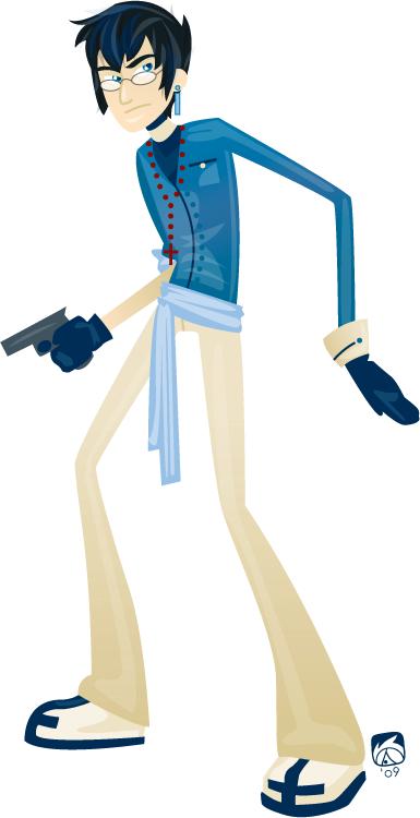 Character Profile - Laeng by acktacky