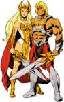 DC Comics Eternity War He-Man and She-Ra
