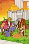 Adam and Teela 2002