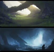 environment by Anfedart