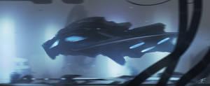 spaceship by Anfedart