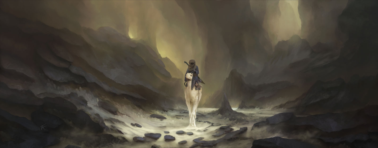 The Wanderer by Anfedart