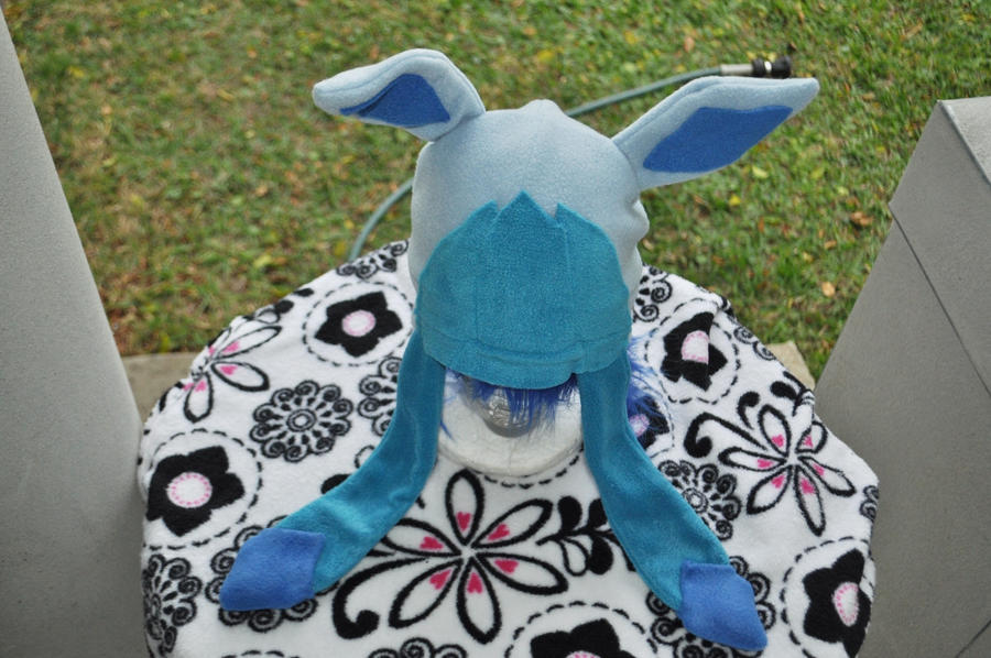 glaceon fleece hat by - photo #3