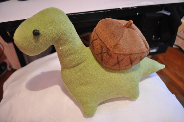 Sheldon the tiny Dinosaur by Lexiipantz on DeviantArt