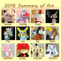 2016 Summary of Art