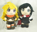 Ruby and Yang Cheebs by Lexiipantz