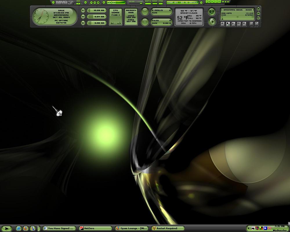 My desktop M12 Toxic by Catevari