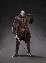 'The Smiling Knight' character concept