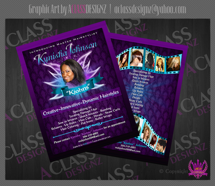 HairStylist Flyer by aCLASSdesignz on DeviantArt