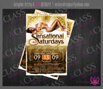 Sensational Saturdays Flyer