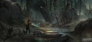 Ashen Rift - Forest 01
