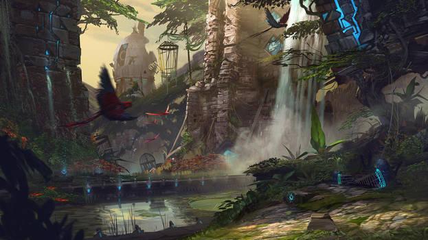 Titansgrave: Moonpeak Manor Gardens