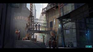 Cosmos - Back alley