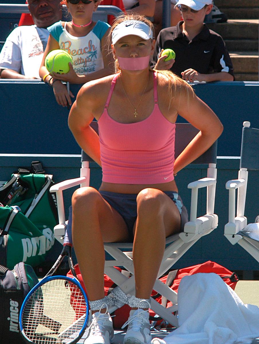 Maria-Sharapova-06 by ... Anna Kournikova Today