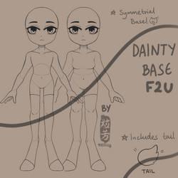 [F2U] Dainty Base [Symmetrical]