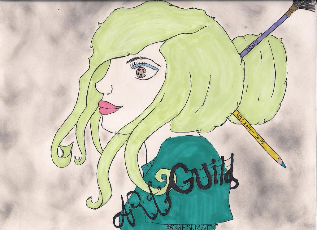 Art Guild T-Shirt by raven1shilo