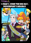 Onlyne Z: chap. 2 -Powerpuff holiday cover by BiPinkBunny