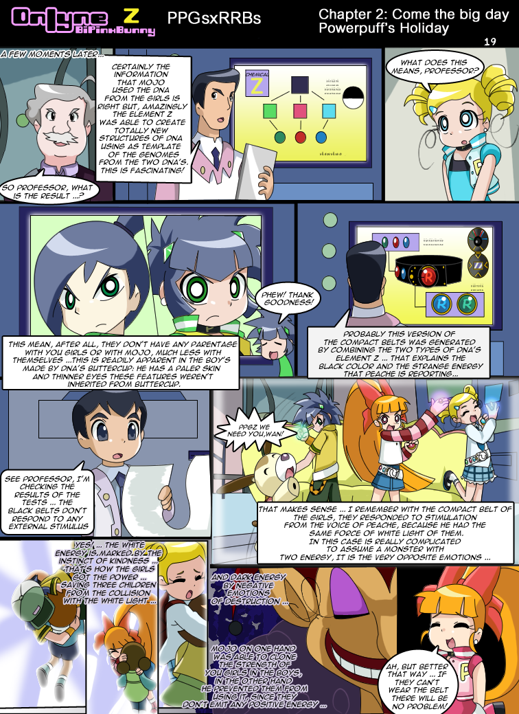 Onlyne Z: chap.2- Powerpuff holiday pag 19 by BiPinkBunny
