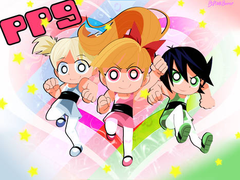 Wall- Powerpuff New girls