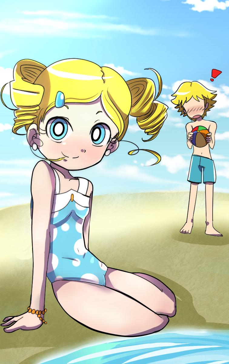 Comish. Hot Summer by BiPinkBunny