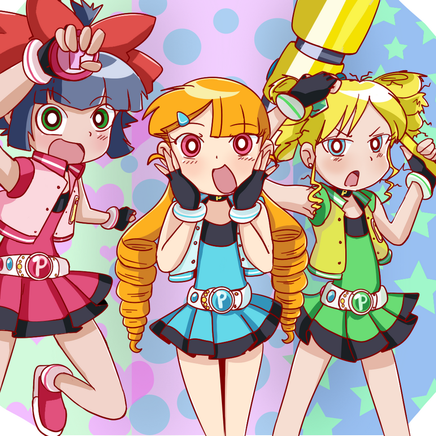 Powerpuff Girls Z Nue