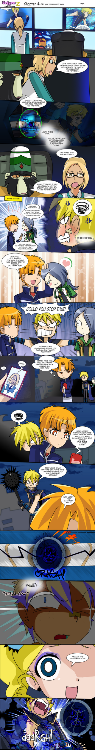 Onlyne Z Chap.4- Not your common rrb team 49 by BiPinkBunny