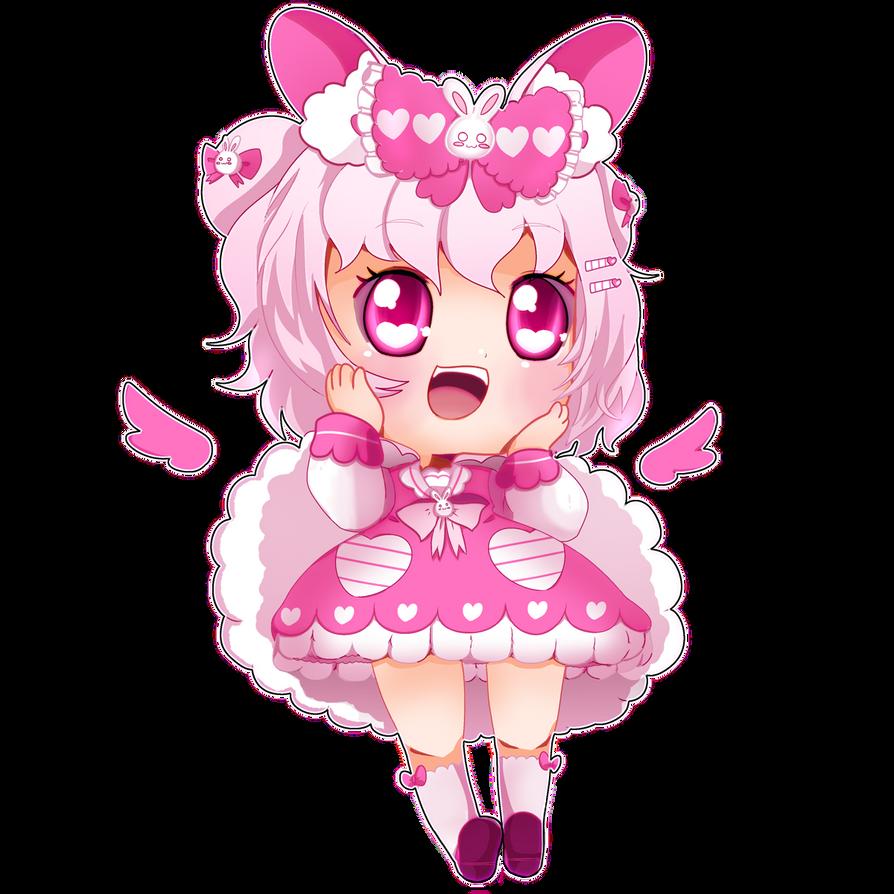BIGchibi - Pinku Usami by BiPinkBunny