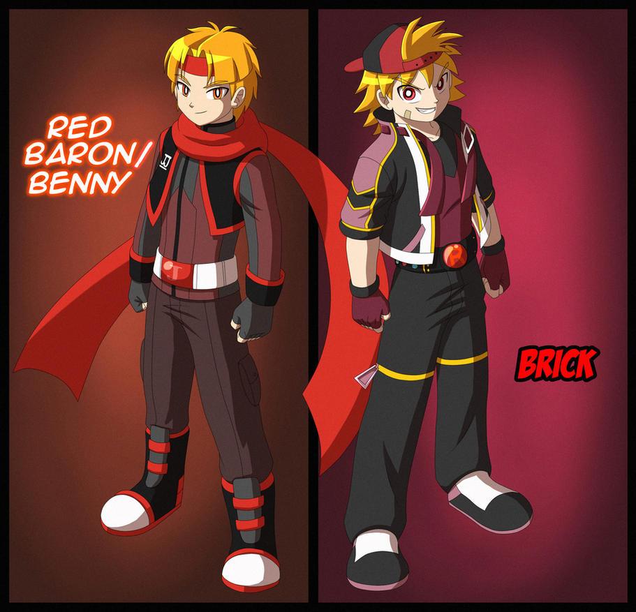 Sharing: Red counterparts by BiPinkBunny