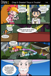 Onlyne Z Chap.5 Disaster! Tokyo in Trouble!- 14 by BiPinkBunny