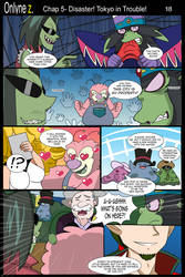 Onlyne Z Chap.5 Disaster! Tokyo in Trouble!- 18 by BiPinkBunny