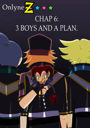 COVER Onlyne z chap.6 3 BOYS AND A PLAN by BiPinkBunny
