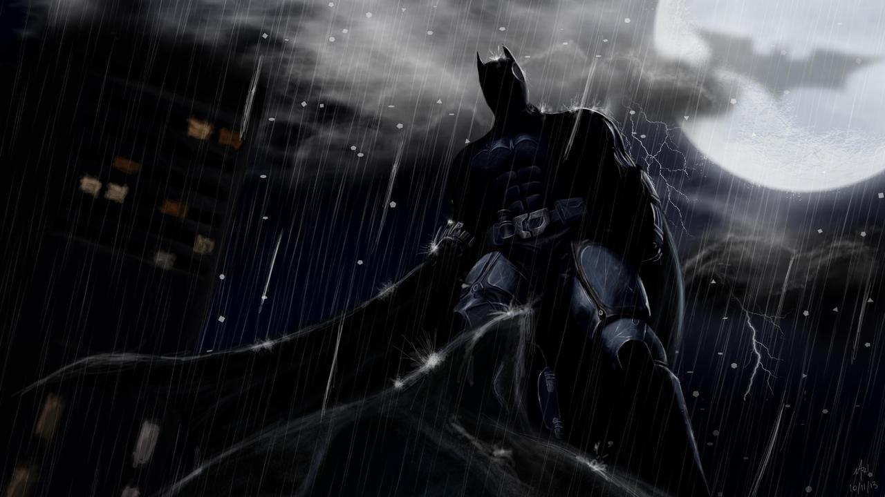 Batman: Dark knight by Marxl