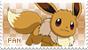 Eevee Fan Stamp by Skymint-Stamps
