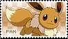 Eevee Fan Stamp
