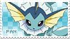 Vaporeon Fan Stamp by Skymint-Stamps