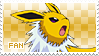 Jolteon Fan Stamp by Skymint-Stamps