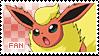 Flareon Fan Stamp