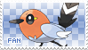 Fletchling Fan Stamp by Skymint-Stamps