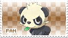 Pancham Fan Stamp by Skymint-Stamps