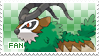 Gogoat Fan Stamp by Skymint-Stamps