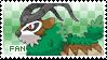 Gogoat Fan Stamp