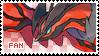 Yveltal Fan Stamp