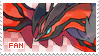 Yveltal Fan Stamp