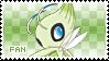 Celebi Fan Stamp