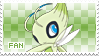 Celebi Fan Stamp by Skymint-Stamps
