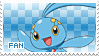 Manaphy Fan Stamp by Skymint-Stamps