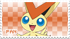Victini Fan Stamp