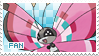 Vivillon Fan Stamp by Skymint-Stamps